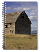 Old Big Sky Barn Spiral Notebook