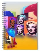 Pop Art Pop Up Spiral Notebook