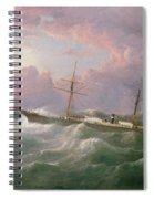 Portrait Of The Lsis A Steam And Sail Ship Spiral Notebook