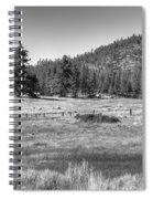 Prairie In South Lake Tahoe Spiral Notebook