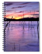 Purple Lake  Spiral Notebook