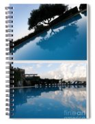 Reflection. Collage Spiral Notebook