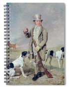 Richard Prince With Damon - The Late Colonel Mellish's Pointer Spiral Notebook