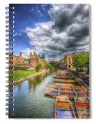 River Cam - Cambridge Spiral Notebook