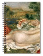 Two Bathers Spiral Notebook
