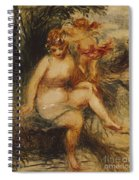 Venus And Love Allegory Spiral Notebook