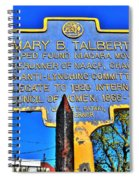 0001 Buffalo Ny History Spiral Notebook