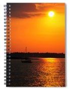 0001 Set Adrift  Spiral Notebook
