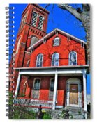 0001 The House Spiral Notebook