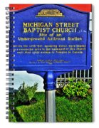 0002 Buffalo Ny History Spiral Notebook