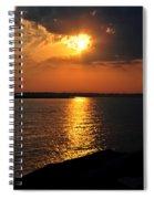 0003 Peeking Through Spiral Notebook