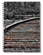 0003 Train Tracks Spiral Notebook
