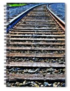 0004 Train Tracks  Spiral Notebook