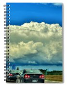 001 Grand Island Bridge Series  Spiral Notebook