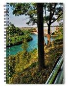 001 Niagara Gorge Trail Series  Spiral Notebook