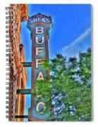 001 Sheas Buffalo Spiral Notebook
