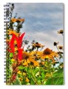001 Summer Air Series Spiral Notebook
