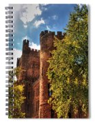 001 The 74th Regimental Armory In Buffalo New York Spiral Notebook