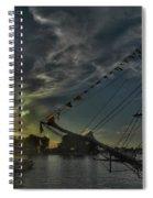 001 Uss Niagara 1813 Series Spiral Notebook