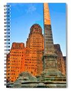 001 Wakening Architectural Dynamics  Spiral Notebook