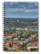 0016 Autumn Days Of Buffalo Ny Birds Eye Spiral Notebook