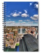 0017 Autumn Days Of Buffalo Ny Birds Eye Spiral Notebook