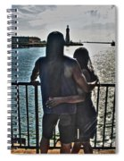 0017 The Lion And Lioness As One Spiral Notebook