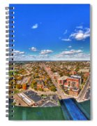 0018 Autumn Days Of Buffalo Ny Birds Eye Spiral Notebook