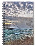 0018 View Of Horseshoe Falls From Terrapin Point Series Spiral Notebook