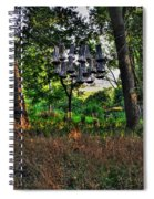 002 Bat Homes Spiral Notebook