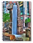 002 Fountain Plaza Spiral Notebook