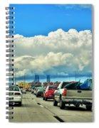 002 Grand Island Bridge Series  Spiral Notebook