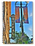 002 Sheas Buffalo Spiral Notebook