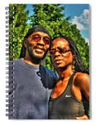 002 The Lion And Lioness Spiral Notebook