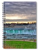 002 View Of Horseshoe Falls From Terrapin Point Series Spiral Notebook