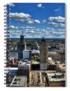 003 Autumn Days Of Buffalo Ny Birds Eye Spiral Notebook