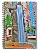 003 Fountain Plaza  Spiral Notebook