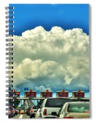 003 Grand Island Bridge Series  Spiral Notebook