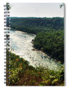 003 Niagara Gorge Trail Series  Spiral Notebook