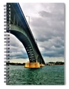 003 Stormy Skies Peace Bridge Series Spiral Notebook