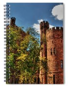 003 The 74th Regimental Armory In Buffalo New York Spiral Notebook