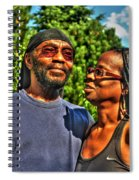 003 The Lion And Lioness Spiral Notebook