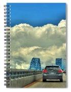 004 Grand Island Bridge Series  Spiral Notebook