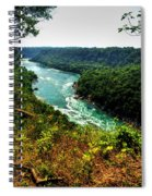 004 Niagara Gorge Trail Series  Spiral Notebook
