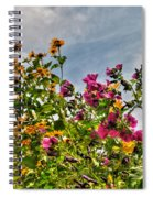 004 Summer Air Series Spiral Notebook