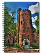 004 The 74th Regimental Armory In Buffalo New York Spiral Notebook