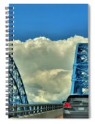 005 Grand Island Bridge Series  Spiral Notebook