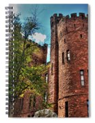 005 The 74th Regimental Armory In Buffalo New York Spiral Notebook