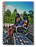 005 The Lion And Lioness Spiral Notebook