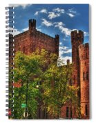 006 The 74th Regimental Armory In Buffalo New York Spiral Notebook